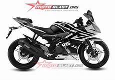 Striping R Modif by Modif Striping Yamaha R15 Black 2014 Terbaru Motoblast