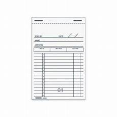 rediform sales receipt book red5b201 walmart com