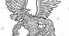 Gambar Mewarnai Hitam Putih Burung Garuda Terbaru
