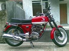Honda Tiger Modif Cb by Honda Cb 125 S Modif Knalpot Tiger Revo Classic And