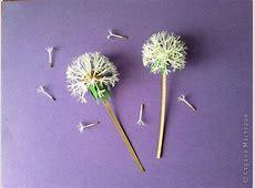 How to Make Beautiful Paper Dandelions   iCreativeIdeas.com