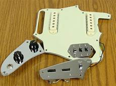 fender classic player jaguar loaded pickguard pots