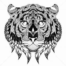 ausmalbilder f 252 r erwachsene tiger zum ausdrucken
