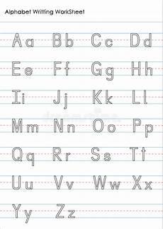 handwriting worksheets for alphabet 21877 alphabet writing practice worksheet stock illustration illustration of fast literacy 78350274