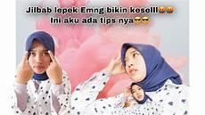 Tips Memaksi Jilbab Segi Empat Anti Lepek