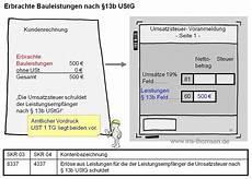 rechnung nach 13b iris thomsen inland leistung 167 13b ustg