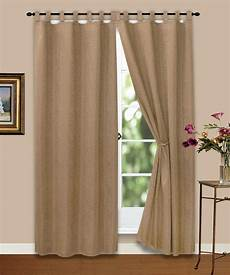 gardinen de vorhang gardine blickdicht ornamente hell braun 140x245 cm