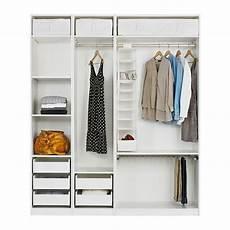 Pax Wardrobe With Interior Organizers Ikea Closets