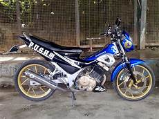 Modifikasi Motor Shogun by Modifikasi Motor Suzuki Shogun 125 Thecitycyclist