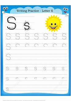 handwriting worksheets free 21619 letter s is for sun handwriting practice worksheet free printable puzzle
