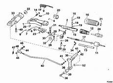 1995 johnson outboard wiring diagram johnson steering and shift handle parts for 1995 25hp j25teeor outboard motor