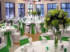 como decorar una boda de color verde