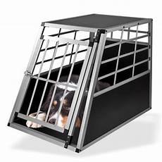 pkw auto alu hundebox hundetransportbox bello1