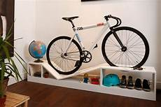 bike rack furniture is for tiny apartments and