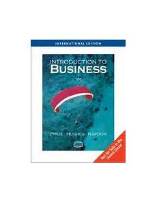 introduction to business editions