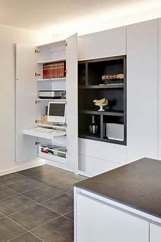 Small Home Office In A Closet Kleiner