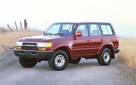 Used 1991 Toyota Land Cruiser Pricing  For Sale Edmunds