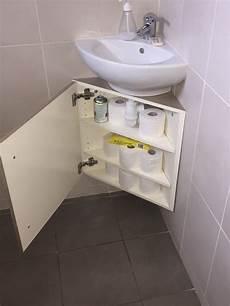 meuble lavabo angle meuble sous vasque d angle par tacoule38 sur l air du bois