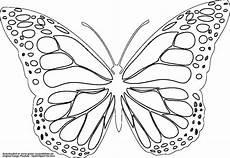 Ausmalbild Schmetterling Umriss Schmetterling Gratis Ausmalbild