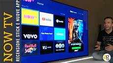 tv now ich bin ein recensione nowtv smart stick nuove app ed ecosistema
