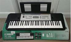yamaha ypt 255 yamaha ypt 255 keyboard piano and stand in surbiton