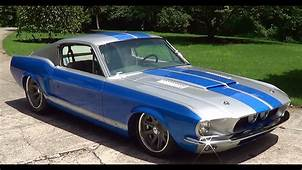 1967 Mustang Fastback Twin Turbo Alloway Street Machine M