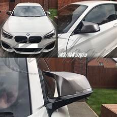 bmw m3 m4 style mirror covers painted in bmw b55 ferric