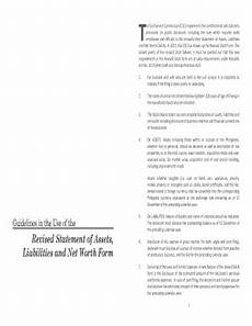 fillable sworn statement of assets liabilities and net
