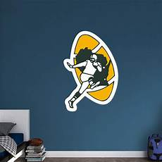 green bay packers wall stickers green bay packers classic logo wall decal shop fathead