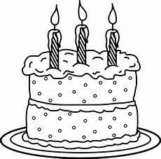 Malvorlagen Cake Birthday Cake Netart