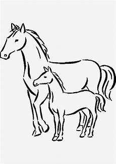 pferde bilder zum ausmalen wundersch 246 ne pferde