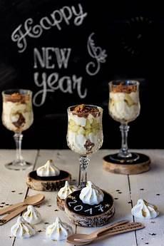 Silvester Dessert Apfel Bienenstich Im Glas Rezept