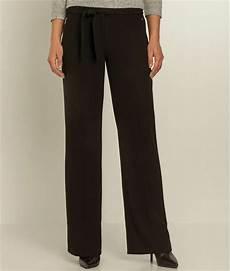 pantalon femme large fluide noir grain de malice