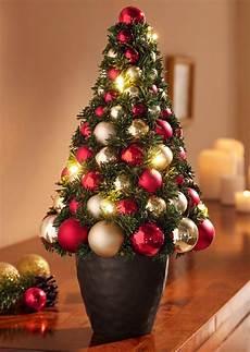 deko weihnachtsbaum weihnachtsbaum mit led beleuchtung und deko online kaufen