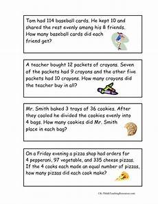 worksheets of word problem for grade 4 11104 4th grade number math word problems math words 3rd grade math