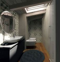 bagno mansarda mansarda una casa sottotetto luminosa e contemporanea