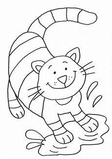 Ausmalbilder Katzenkinder Kostenlose Malvorlage Katzen Katze In Der Pf 252 Tze Zum Ausmalen