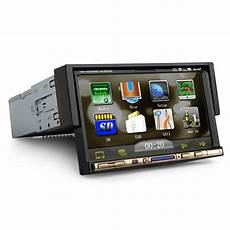 1 din navi ouku 7 inch single 1 din in dash motorized auto slide car