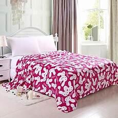 coperte letto morbido 100 di corallo plaid in pile per letto
