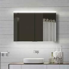 led spiegelschrank led spiegelschrank 100x70cm wandspiegel kaufen auf ricardo