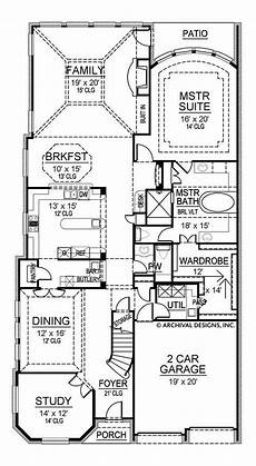 narrow lot luxury house plans blackburn narrow house plans luxury house plans
