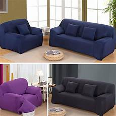 Colorful Protector Cover by Fashion Slipcover Solid Color Cover Sofa Furniture