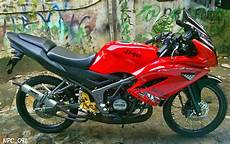 150 Rr Modif Simple by 150 Rr Modifikasi Velg Jari Jari Thecitycyclist