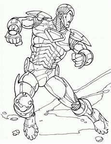 Superhelden Ausmalbilder Ironman Iron Coloring Pages Coloringpages1001