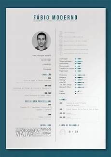 layout of a curiculum vitae curriculum vitae by f 225 bio moderno via behance print design pinterest