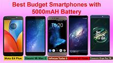 best smart mobile phones best smartphones with 5000 mah battery budget android