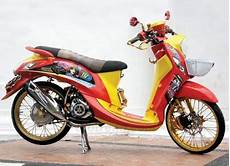 Scoopy Modif Vespa by Modifikasi Scoopy Jadi Vespa Modify 5