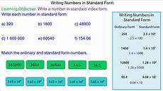 large numbers in standard form mr mathematics com