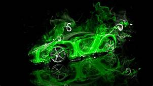 Neon Green Car Wallpapers  Top Free