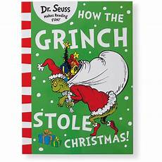 Grinch Malvorlagen Novel How The Grinch Stole Yellow Back Book Edition